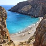 Plage de Agiofarago, sud d'Héraklion, Crète