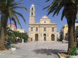 Chania (Hania) en Crète. Saint Nicolas