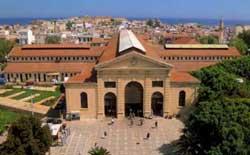 Chania (Hania) en Crète. Le marché couvert