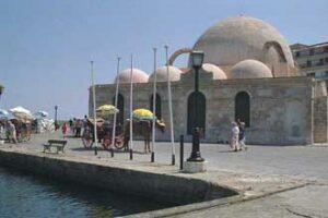Chania (Hania) en Crète. La mosquée des Janissaires