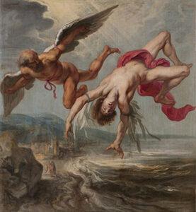 La chute de Dédale et Icare