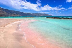 Plage d'Elafonissi, ouest de la Crète