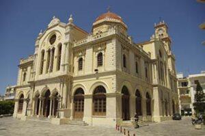 Heraklion. Cathédrale Agios Minas