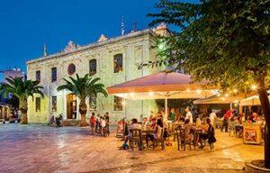 Heraklion, Crète. Agios Titos