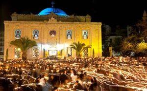 Heraklion, Crète. L'église Agios Titos