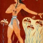 Knossos. Fresque, le Prince aux lys
