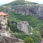 Météores, monastères en Grèce