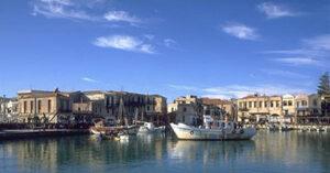 Rethymnon, Crète. Vieux port