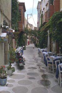 Rethymnon, Crète. Ruelle