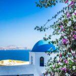 Ile de Santorin, Cyclades, Grèce