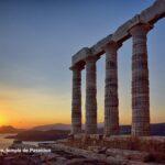 Cap Sounion, temple de Poseidon